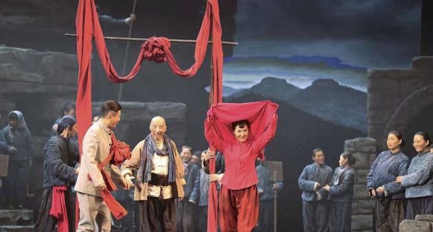 民族歌剧《沂蒙山》走进河南